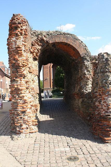 The Balkerne Gate, Colchester, Essex, England by aden30, via Flickr