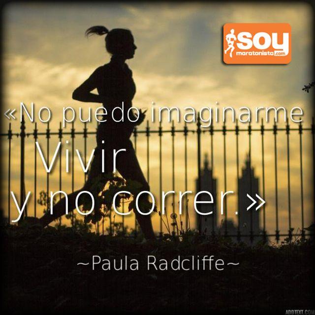 Mi vida es #correr #running #frases #SoyMaratonista