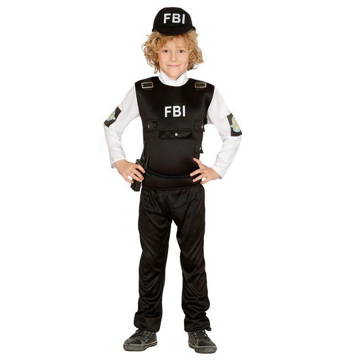 Disfraz de Policía FBI #disfraces #carnaval #novedades2016