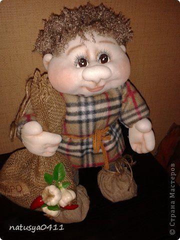 Куклы Мастер-класс Шитьё Домовёнок Капрон фото 1