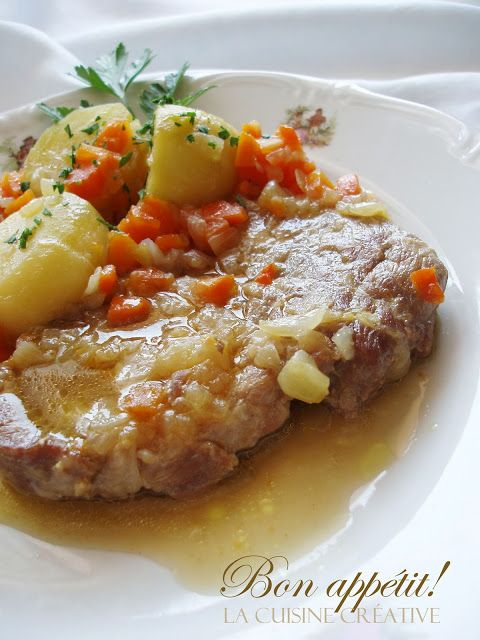 La cuisine creative: Vratne krmenadle u finom saftu