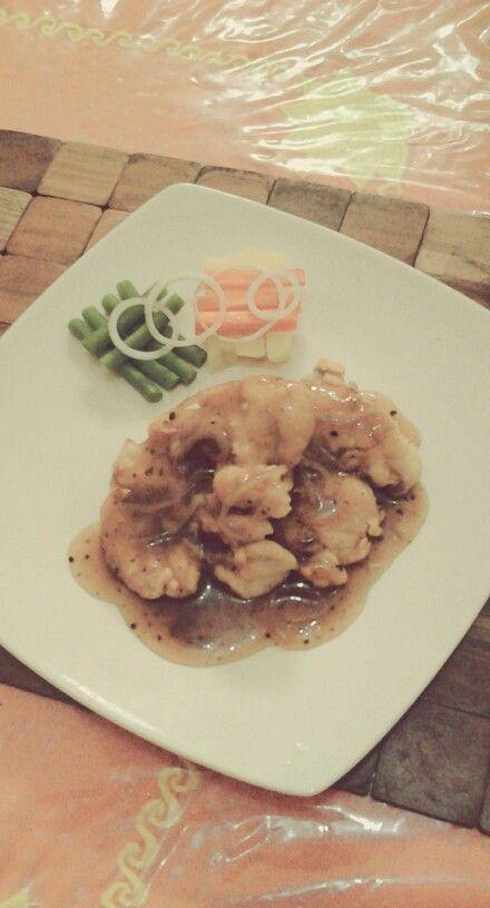 Chicken steak by : dwi kurnia ♥