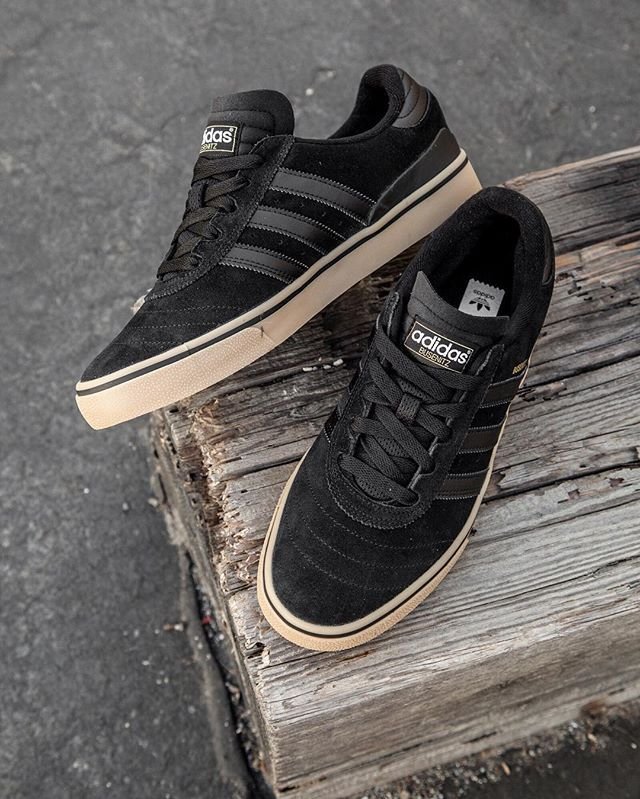 Adidas Skateboarding Busenitz Vulc ADV: Black/Gum