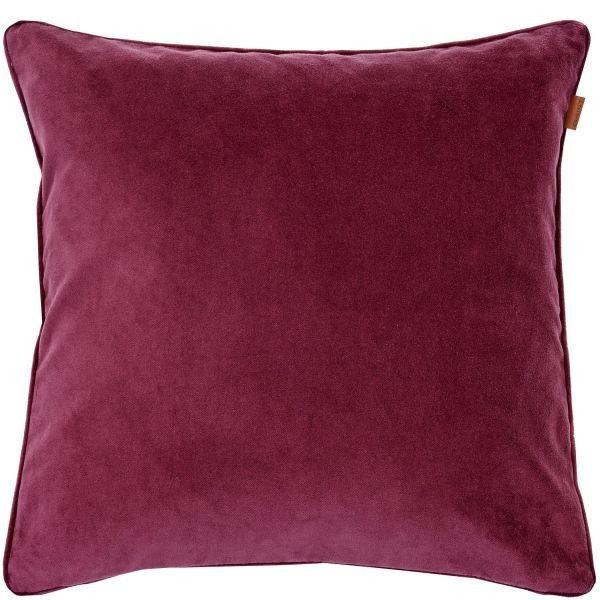 Pyntepute Velvet - 50x50 - Purple Fig