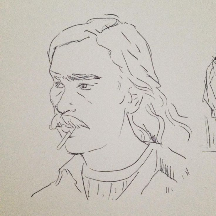 I can't get enough. #drawings #sketch #guesswho #truedetective