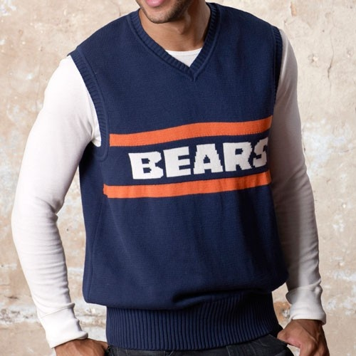 Bears Sweater Vest Fashion Skirts