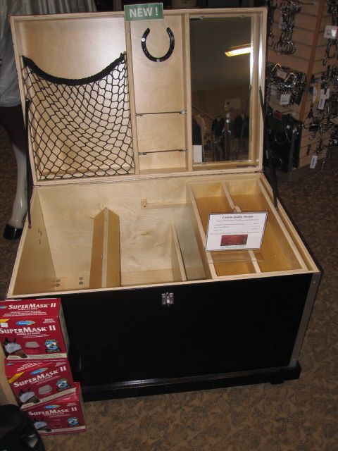 Help me design the most awesome and efficient tack trunk/locker