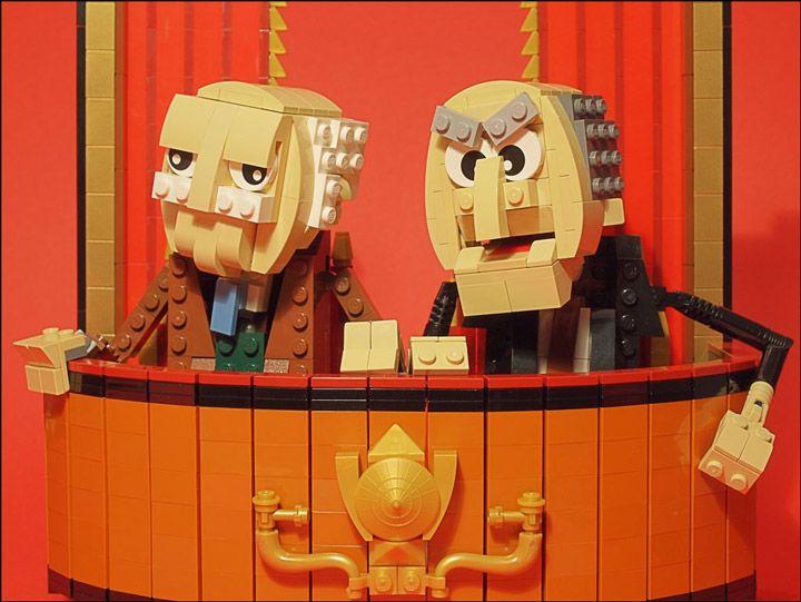 grubaluk_Lego_Muppets_WaldorfAndStatler.jpg 720 ×541 pixels