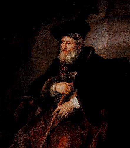Rembrandt - Portret van een oude man - The Gulbenkian Portugal