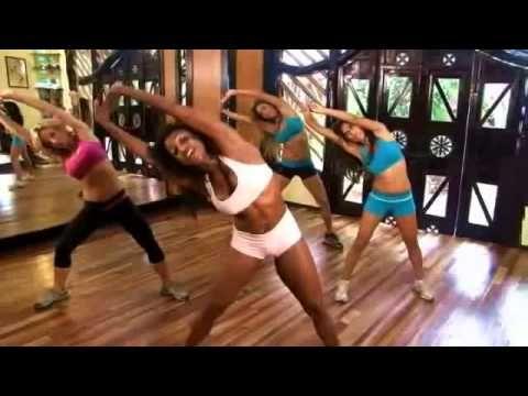 Cvičení na břicho (část 1) - YouTube