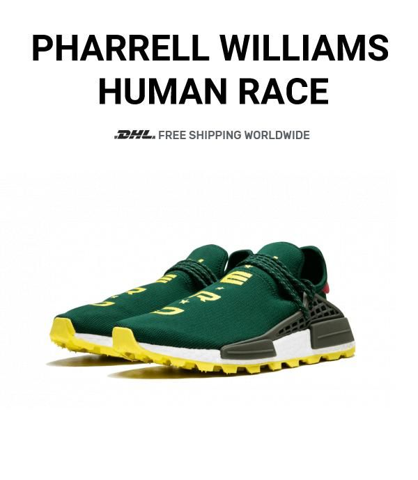 finest selection c9035 90486 How to get The best Human Race Adidas HU Trail NERD Green ...