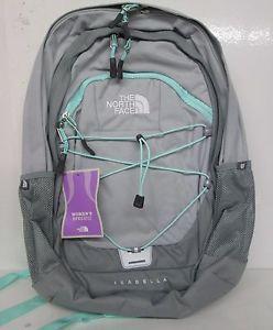 North Face Isabella Women's Daypack Backpack Bookbag A93G L8B Heather Grey | eBay