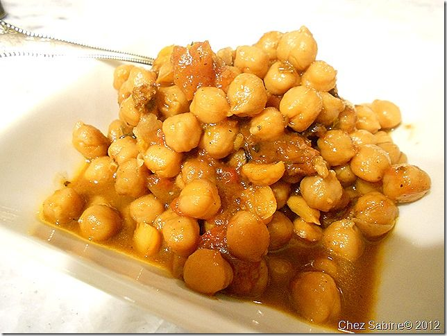 Basque-Style Garbanzo Beans. Try a new side dish for your holiday meal.