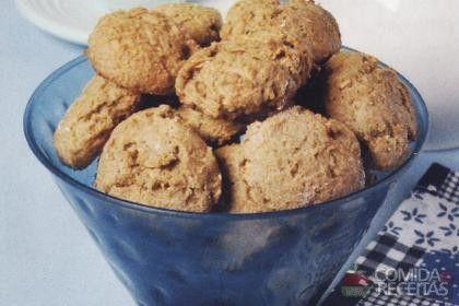 Receita de Biscoito integral de maçã e banana - Comida e Receitas