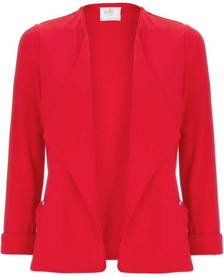 Petite Red Short Jacket
