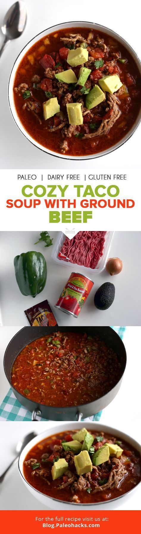 This taco soup is simple, spicy, and topped with creamy avocado! All your favori... -- (This is Amazon Affiliate Link) Read more  at the image link.