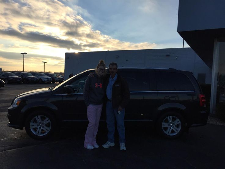 MEGAN AND MICHAEL's new 2011 Dodge Grand Caravan! Congratulations and best wishes from Kunes Country Ford Lincoln of Sterling and Chris Lansford.