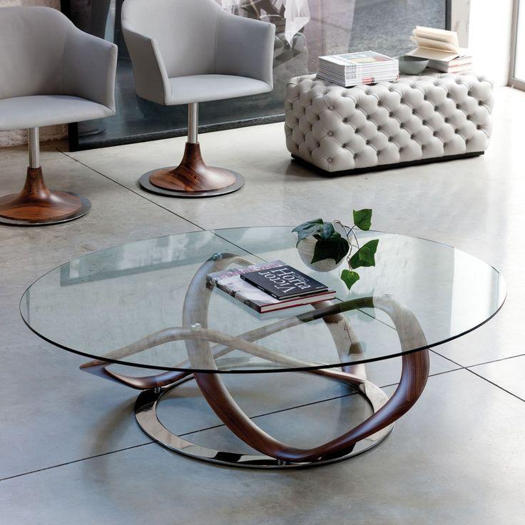 porada infinity oval coffee table designer furniture