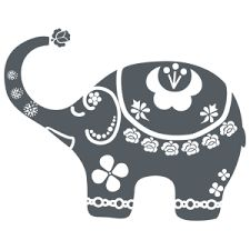 Resultado de imagen para vinilos decorativos elefantes