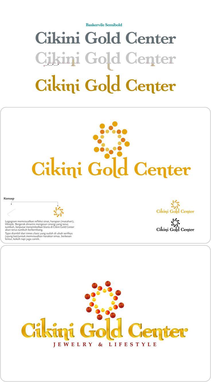 Logo Design for Cikini Gold Center @Cikini  #logo #visualidentity #typography #graphicdesign #identity