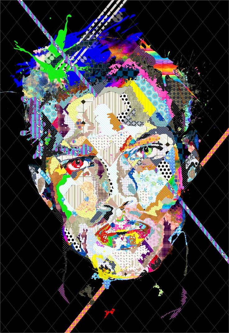 """Pınar Du Pre """" Calixto"""" 180x125cm/mixed media on canvas/2015"""