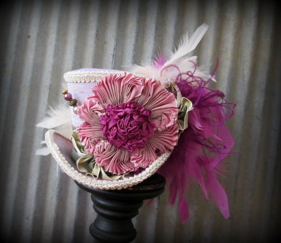 Mini Top Hat Alice in Wonderland Mini Top Hat Tea by ChikiBird