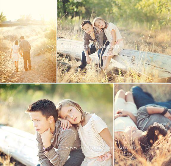 cute sibling photo posing ideas