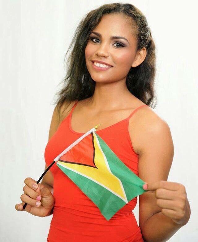 Woman guyana haiti most beautiful