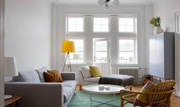 Fed lejlighed i Malmø grønt tæppe