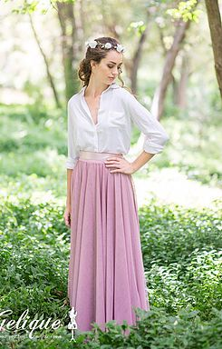 Gelique Anna Skirt 3 Layers - Bridesmaid Dress, Evening Wear, Proudly South African, Home of the Infinity / Wrap / Convertible Dress
