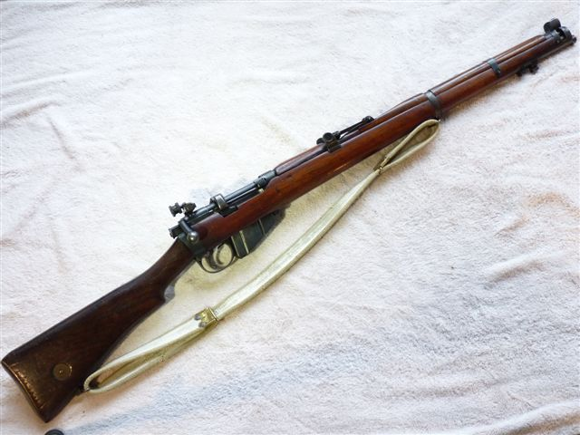 Lee-Enfield SMLE no1 mk3* sharp-shooter's rifle 1916 dated ...