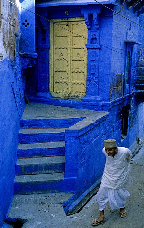 The Blue City - Jodhpur, Rajasthan