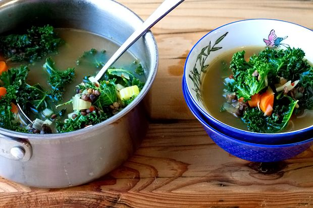 French Lentil and Kale Soup   eHow Food
