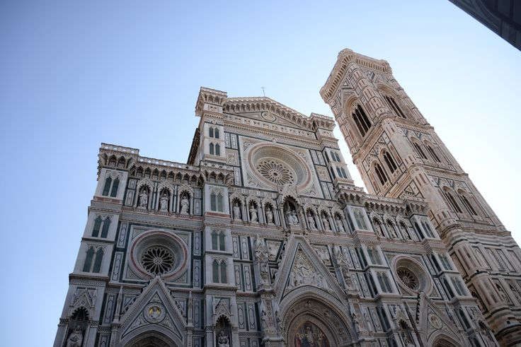 The #gothic style Cattedrale di #SantaMariainFiore is the main church in #Florence, Italy. It is often referred to with the name #Duomo di Firenze.