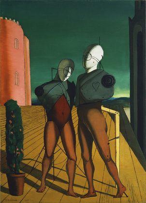 The Duo  Giorgio de Chirico (Italian, born Greece. 1888-1978)    Paris, winter 1914-15. Oil on canvas