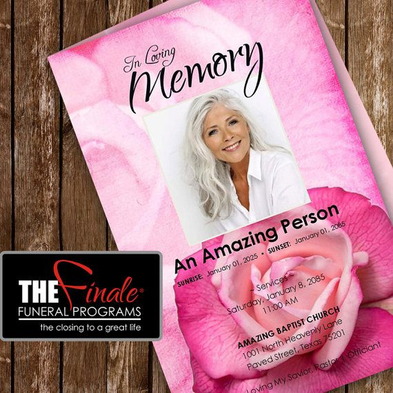 36 best Funeral Program Templates images on Pinterest Microsoft - funeral program templates microsoft word