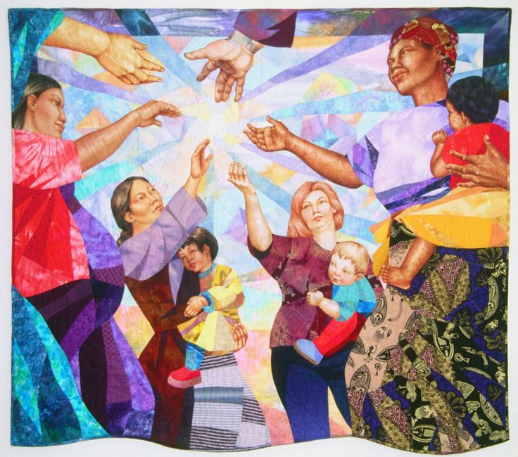 Best of Show at Pacific International Quilt Festival in 2002! Celebrate our 25th year with us October 13-16, 2016