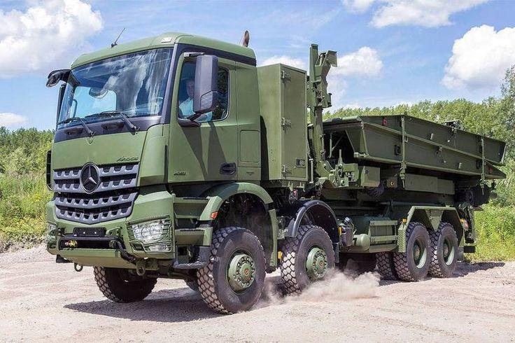 military arocs european trucks trucks mercedes benz. Black Bedroom Furniture Sets. Home Design Ideas