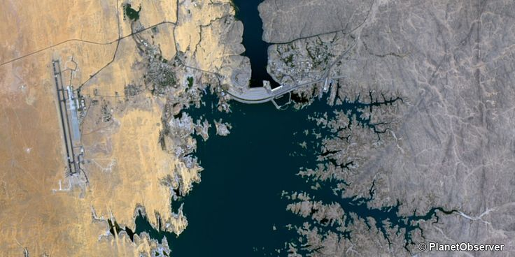 Aswan Dam, Egypt – PlanetSAT 15 L8 satellite image