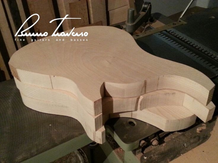 Bass bodies waiting to be cut to measure  - Bruno Traverso Guitars