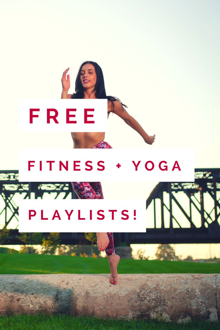 Free Fitness + Yoga Playlists by Peace to the People  Enjoy free pre-made playlists perfect for fitness instructors to use for class planning.  #yoga #vinyasa #fitness #playlists #music