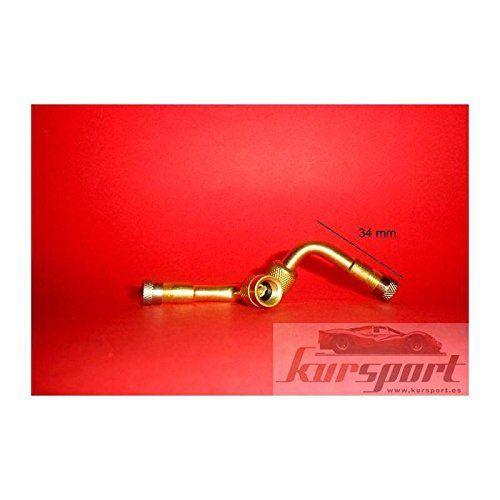 Extension de valve métal 90º (Prix pour unité): Votre adaptateur – prolongateur de valve , fera gonfler les pneus le travail plus facile !…