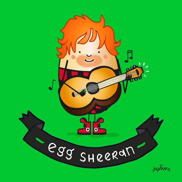 Egg Sheeran @missjussymo