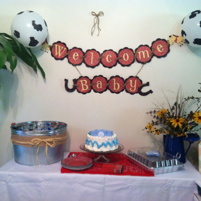 Baby Shower Cowboy Theme: 1000+ Images About Western Party / Cowboy Party / Baby