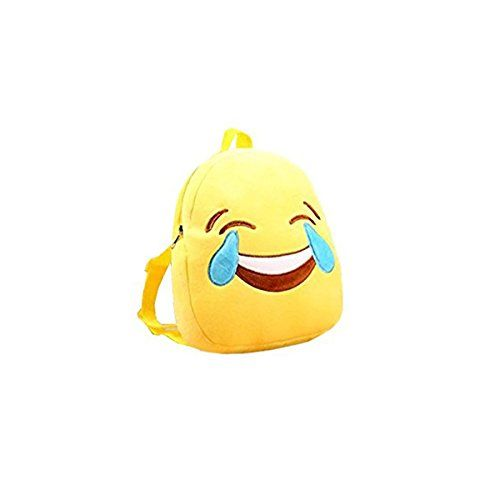 Introducing Emoji Factory Emoticon Emoji Plush Backpack for boys and girls.Plush backpack with emoji face design Adjustable shoulder straps Great to help your child get back to school.Product dimensions: 10.6″ x 9.4″ x 2.6″.Cute gift for kids to carry coloring books, puzzles, snacks, gym clothes and more! There are different design like Heart Eyes Smiling …