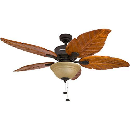 Best 25 tropical ceiling fans ideas on pinterest coastal ceiling fan tropical accessories - Leaf blade ceiling fan with light ...