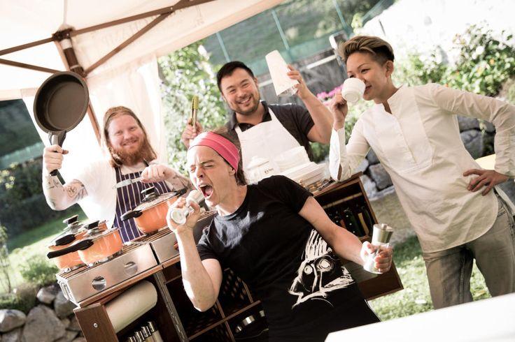 Eine Auswahl der 24 weltbesten Köche gastierte im Mühltalhof der Familie Rachinger