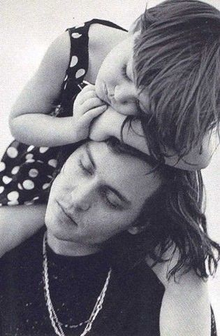 """My daughter was asked by a little old lady in a London hotel restaurant what her Daddy did - she answered, 'He's a pirate.♥' I was very proud of that answer."" -Johnny Depp"