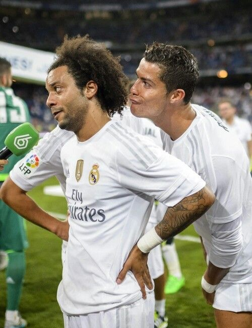 Marcelo and Cristiano. Friendship at its finest