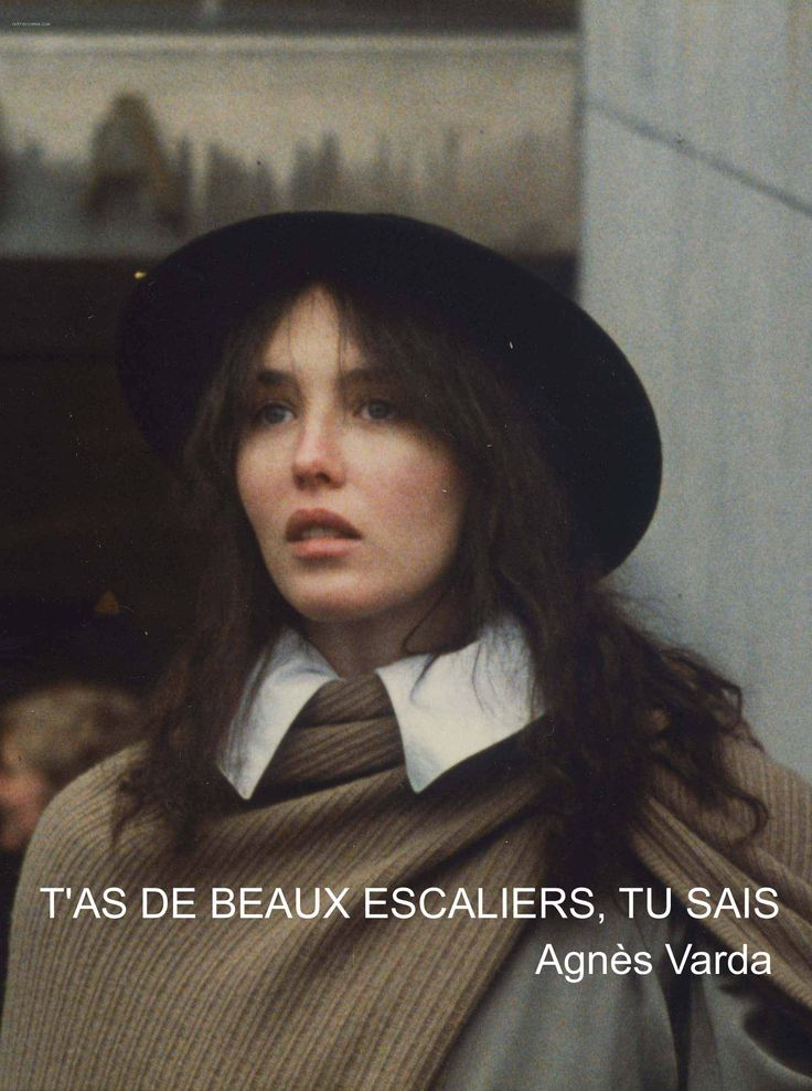 T'as de beaux escaliers, tu sais (1986) de Agnes Varda. Visto el 17/06/2015